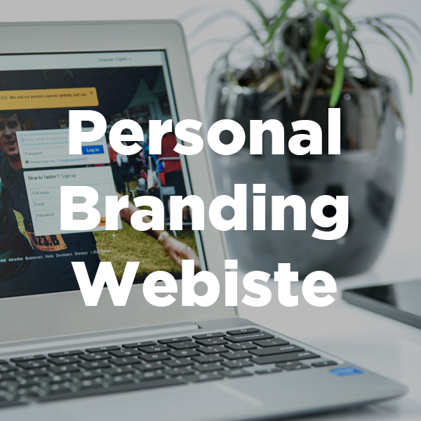 personal branding page